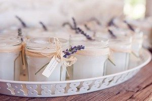 atlanta wedding planner, wedding favors, candles