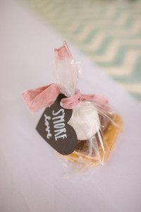 atlanta wedding planner, wedding favors, smores