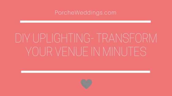 DIY Uplighting- Transform Your Venue in Minutes