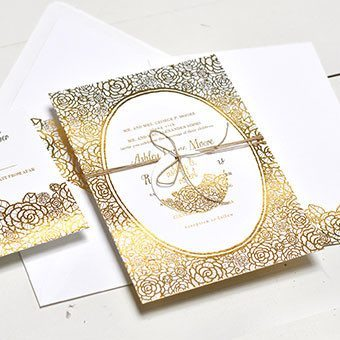 How to use FOILS in Wedding Invitations