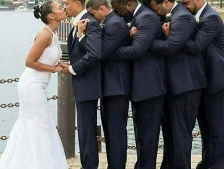 What this GROOM did to Kiss his Bride
